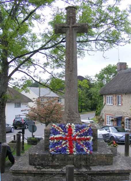 Piddlehinton Cross War Memorial.