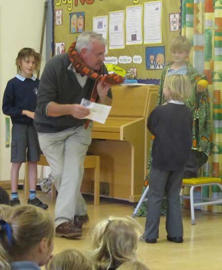 Piddle Valley First School - 'Open Book assembly'