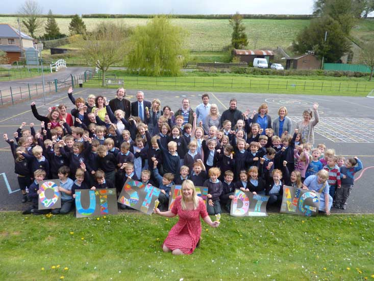 Piddle Valley First School 2012.