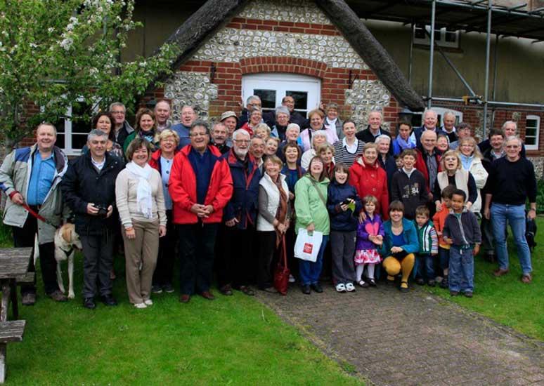 Twinning Association gathering 2012.