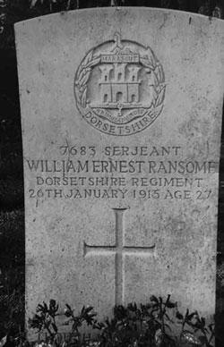 Picture of gravestone