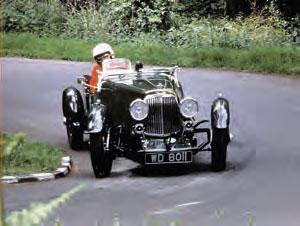 John Browning driving 'Florence'